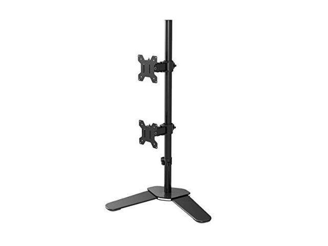 Super Suptek Dual Lcd Led Monitor Stand Desk Mount Bracket Heavy Duty Stacked Holds Vertical 2 Screens Up To 27 Tilt Swivel Rotate Ml6802 Newegg Com Home Interior And Landscaping Mentranervesignezvosmurscom