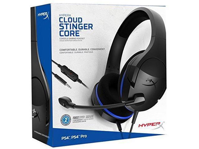 HyperX Cloud Stinger Core - Gaming Headset for PS4, Playstation 4, Nintendo  Switch, Xbox One headset, Over-ear wired headset with Mic, passive noise