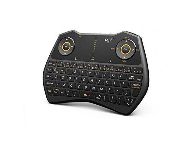Rii mini i28 2 4 GHz Wireless Remote Mouse Voice Keyboard for Laptop, PC,  Smart TV (Black) … - Newegg com