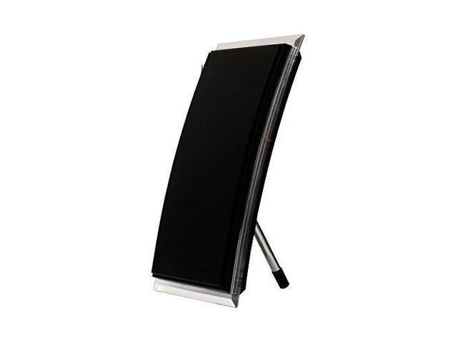 GE 34134 Pro Crystal HD Amplified TV Antenna - 40 Mile Range - Indoor –  Horizontal or Vertical Stand Included - VHF/UHF/HDTV - Optimized for FULLHD