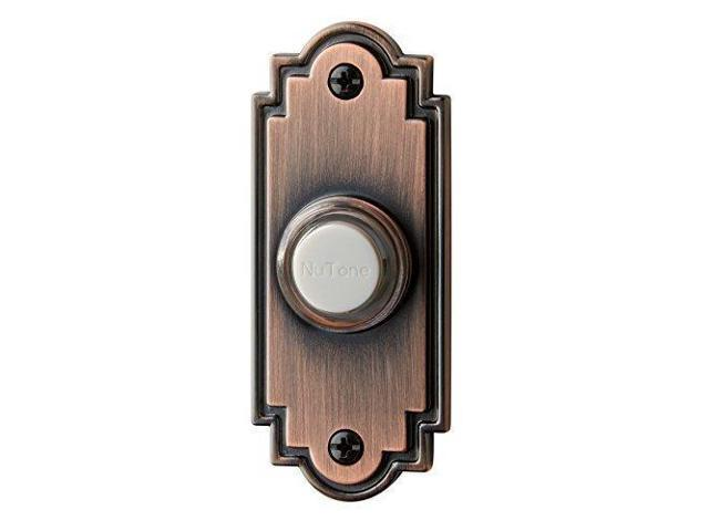 Wired Lighted Door Chime Push On