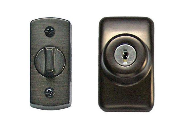Ideal Security Gl Keyed Deadbolt For Storm And Screen Doors Easy