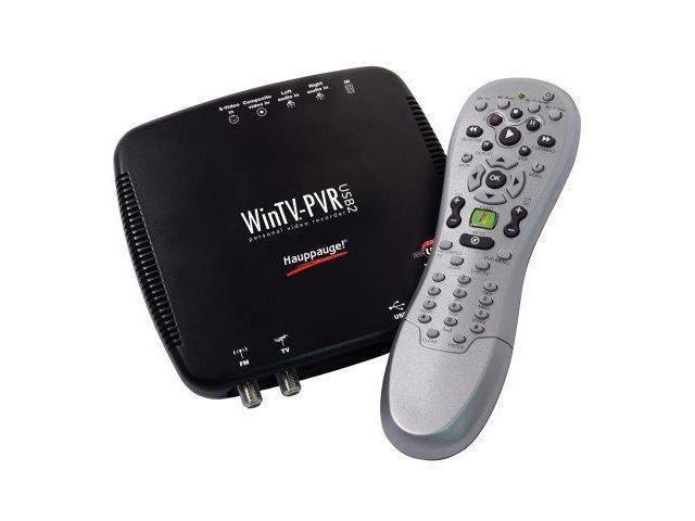 Hauppauge-WinTV-PVR-USB 2.0 MCE Bundle TV Tuner//Personal Video Recorder
