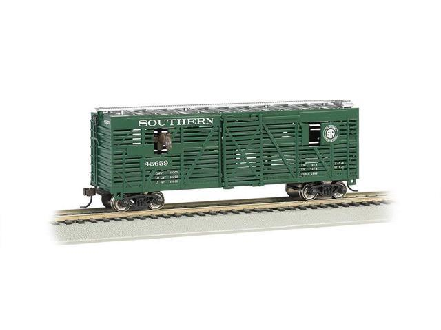 HO Scale Southern with Horses Bachmann 40 Animated Stock Car