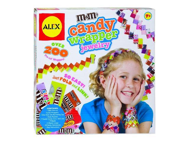 ALEX Toys Do-it-Yourself Wear Roll Paper Beads Jewelry