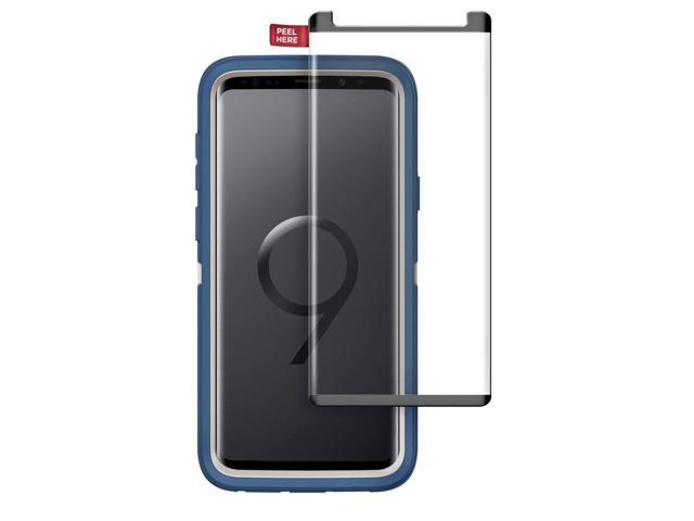 pretty nice 4a43f 36c44 Encased Tempered Glass Screen Protector for Otterbox Defender Case - Galaxy  S9 Plus (case not Included) - Newegg.com