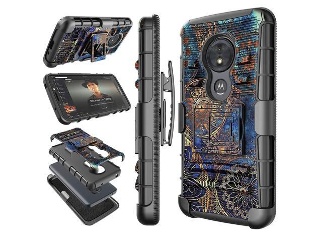 size 40 66122 c26ef Moto G6 Play Case, Motorola Moto G6 Forge Holster Clip, Tekcoo [Hoplite]  Shock Absorbing [Camo] Secure Swivel Locking Belt Defender Heavy Full Body  ...