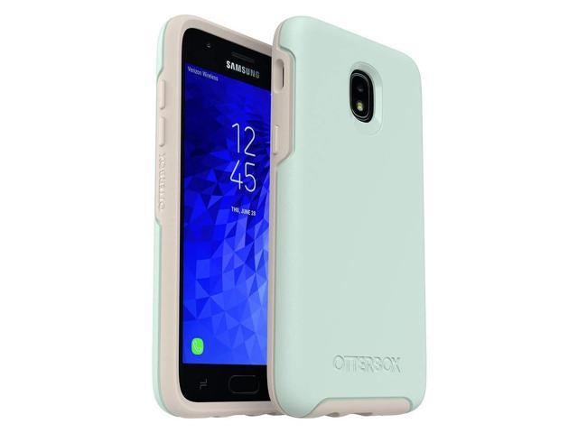 promo code cb6f2 ee87d OtterBox Symmetry Series Case for Samsung Galaxy J3/J3 (2018)/J3 V 3rd  gen/J3 3rd gen/Amp Prime 3/J3 Star - Retail Packaging - Muted Waters (SURF  ...