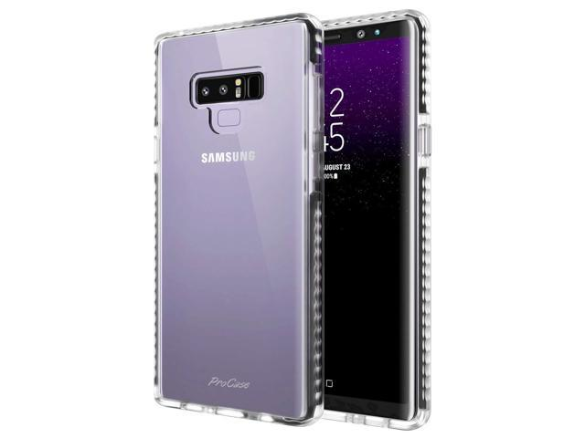 best sneakers faca6 ddd2f ProCase Clear Case for Galaxy Note 9, Slim Hybrid Clear TPU Transparent  Scratch Resistant Rugged Protective Cover Samsung Galaxy Note 9 Case -Clear  - ...