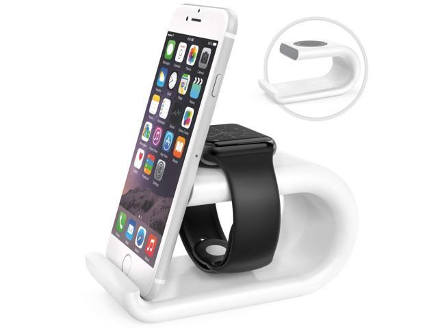 the latest 43371 5ae67 MoKo Apple Watch Stand, Acrylic Horizontal Charging Station Dock Desk  Cradle Holder, Compatible with Apple Watch Series 4 2018/Series 3 2 ...