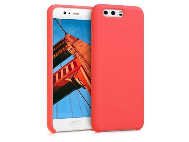 best service 0c6f1 931e4 kwmobile TPU Silicone Case for Huawei P10 - Soft Flexible Rubber Protective  Cover - Coral - Newegg.com