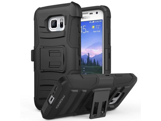 online store 0fb7f 91d76 Galaxy S7 Active Case, MoKo Shock Absorbing Hard Cover Ultra Protective  Heavy Duty Case with Holster Belt Clip + Built-in Kickstand for Samsung  Galaxy ...