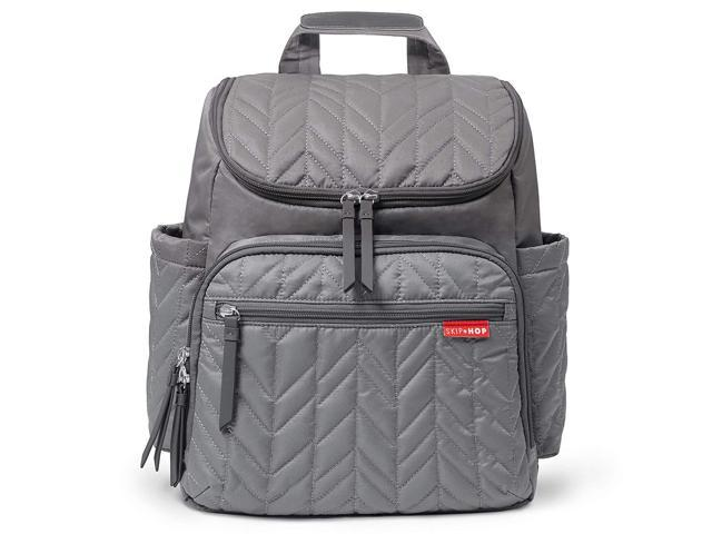 Skip Hop Diaper Bag Backpack Forma Multi Function Baby Travel With Changing Pad Grey