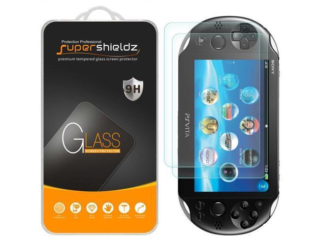 [2-Pack] Supershieldz for Sony Playstation Vita PCH-1000 / PS Vita PSV 1000  [Tempered Glass] Screen Protector, Anti-Scratch, Anti-Fingerprint, Bubble