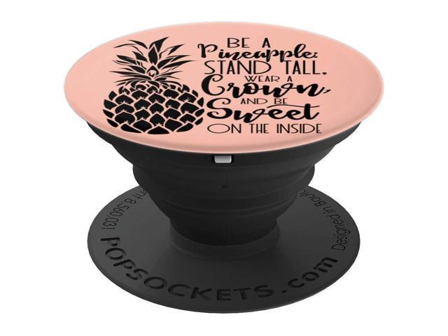 Sassy Southern Charm & Grace Cute Pineapple Lettering on Pink PopSockets  Stand for Smartphones and T - PopSockets Grip and Stand for Phones and