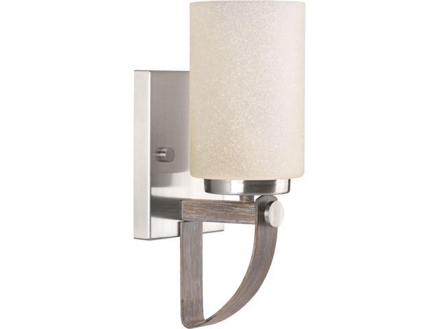 Shop Progress Lighting 4 Light Calven Brushed Nickel: Progress Lighting P710008-009 Aspen Creek One-Light Wall