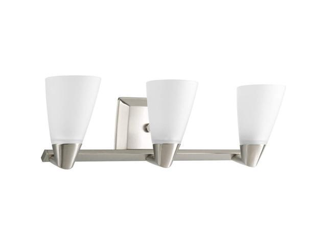 Progress Lighting Rizu Collection 3 Light Brushed Nickel
