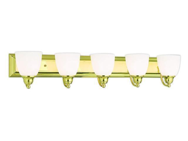 Livex Lighting 10505-02 Polished Brass Bath Vanity With