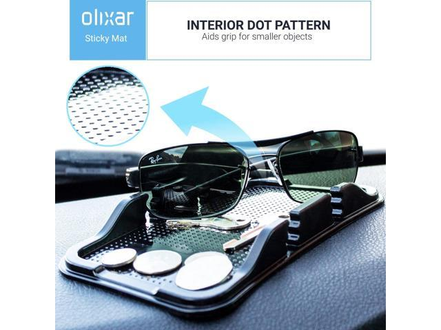 Non S Olixar Smartphone Gel Pad Sticky Dashboard Mat Dash Car Phone Holder