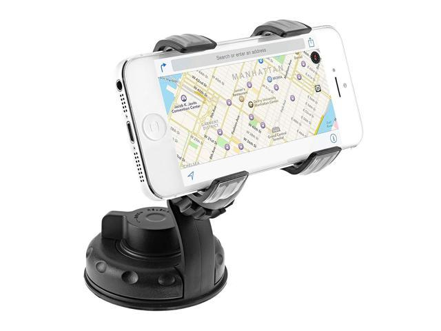 HTC One and Other Smartphones Up To 4in Wide Car DualGrip DualGrip Car Mount Liger/® DualGrip Windshield or Dashboard Universal Car Mount Holder for iPhone 6//5s//5c//4s Universal Car Mount Galaxy S5//S4//S3//S2
