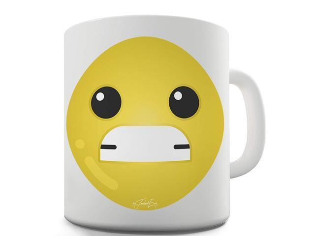 Envy Emoji: Green Crazy Emoji Face Custom Pillow