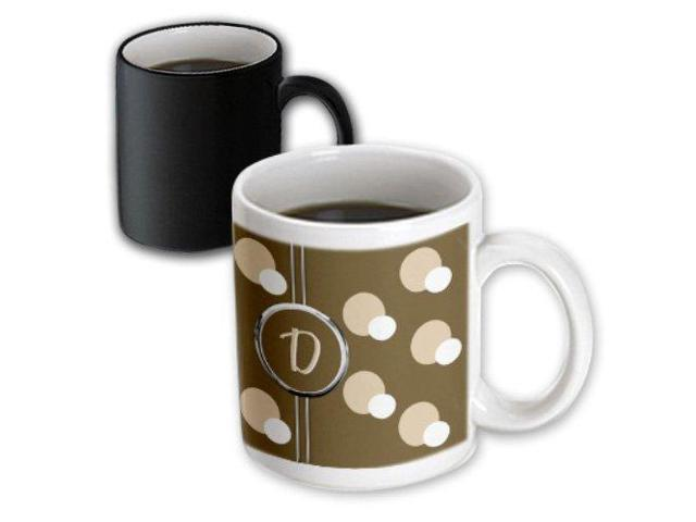 3dRose 215325/_3 Mug 11oz Black//White