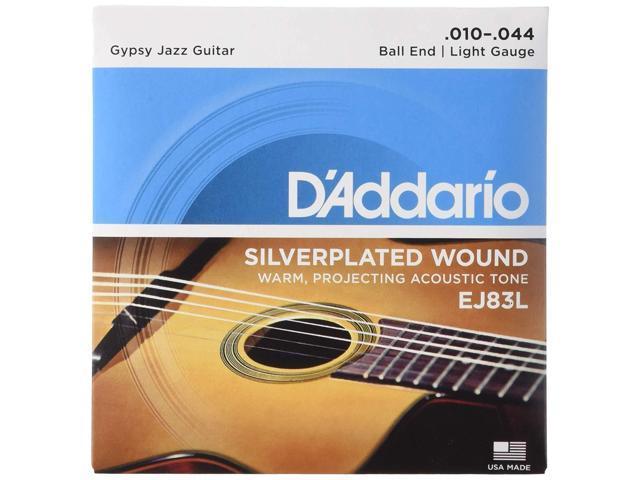 D Addario Gypsy Jazz Acoustic Guitar Strings : d 39 addario ej83l gypsy jazz acoustic guitar strings ball end light 10 44 ~ Vivirlamusica.com Haus und Dekorationen