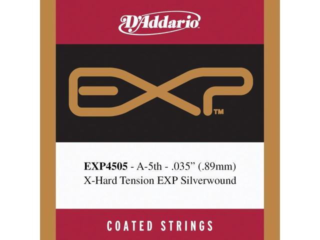 d 39 addario exp4505 coated classical guitar single string normal tension fifth string. Black Bedroom Furniture Sets. Home Design Ideas
