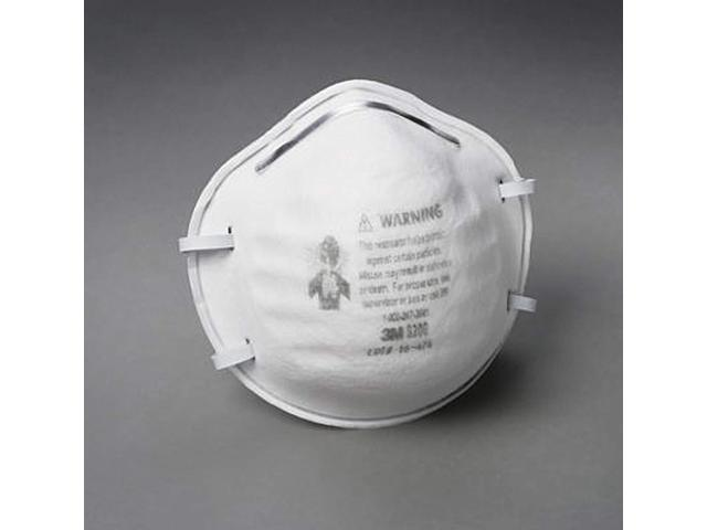 3m Mask Respirator Particle Box - 8200 20 N95 White Standard