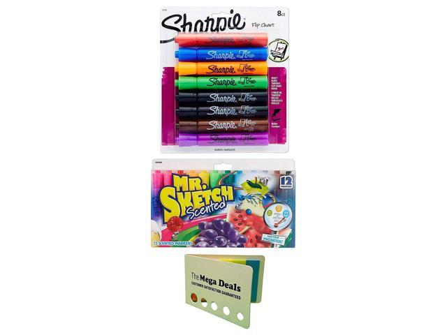 Mr FREE SHIPPING Sketch SCENTED Watercolor Markers 12 Colors 12 Per Pack