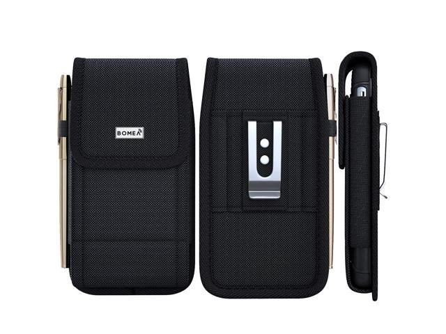 new arrivals fbc2d 21e8f Bomea iPhone XR Belt Case, Rugged Nylon Cell Phone Holster Case with Belt  Clip and Loop Carrying Pouch Holder Cover for Apple iPhone XR (Fits Phone  ...