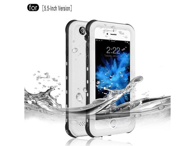 new concept e3cd0 70d6c RedPepper iPhone 6 Plus/6s Plus Waterproof Case, IP68 Certified Drop  Resistant Full Sealed Underwater Protective Cover, Shockproof, Snowproof  and ...
