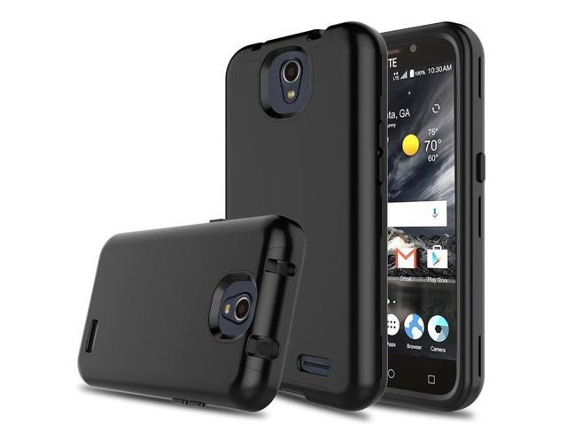 DONWELL Compatible ZTE Maven 3 Case Hybrid Three Layer Shockproof  Protective Armor Cell Phone Case Cover Compatible ZTE Overture 3/ZTE  Prestige 2/ZTE