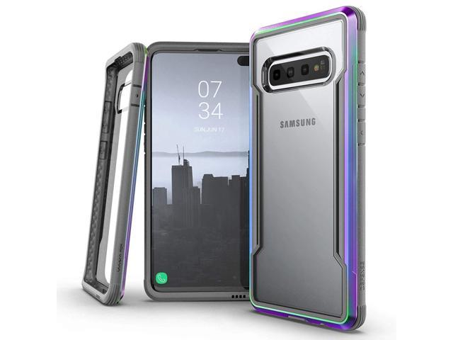 X-Doria Defense Shield Series, Samsung Galaxy S10 Plus Phone Case -  Military Grade Drop Tested, Anodized Aluminum, TPU, and Polycarbonate  Protective