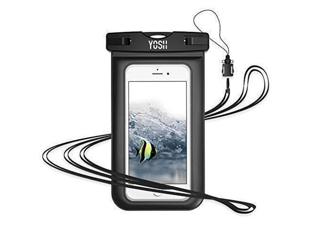 online store 78827 49f84 YOSH Waterproof Phone Pouch Universal Waterproof Phone Case Cell Phone Dry  Bag Pouch Underwater Phone Pouch Cellphone Case Compatible with iPhone ...