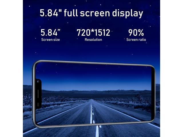 spiphone Note 9 Unlocked Cell Phone, 32GB ROM+3GB RAM, 5 85