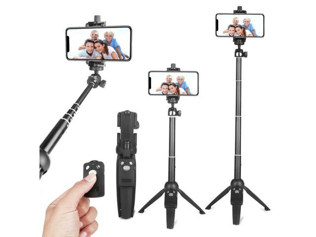 uk availability 5bcd2 44183 Selfie Stick Tripod,Extendable Portable Selfie Stick with Bluetooth  Wireless Remote and Tripod Stand for iPhone X/8/iPhone 8 Plus/iPhone  7/iPhone 7 ...