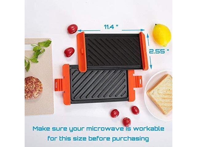 Microwave Cookware Cooking Fast And Dishwasher Safe Cheese Sandwich Toaster Microwave Sandwich Grill Microwave Crisper