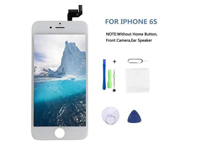 cheap for discount 582b6 52a24 Screen Replacement Fit iPhone 6s LCD Display LCD Touch Screen Digitizer  Replacement Full Assembly with Repair Tool Kit(White, IPhone 6s) -  Newegg.com