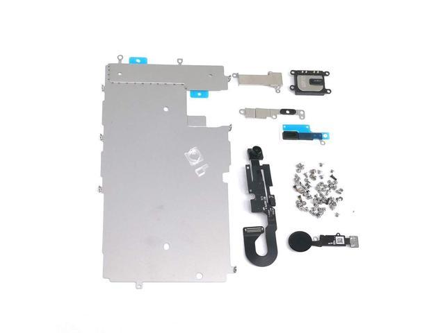 E-repair Screen Metal Bracket Front Camera Flex Cable Small Parts Set  Replacement for iPhone 7 (4 7 inch) (Black) - Newegg com