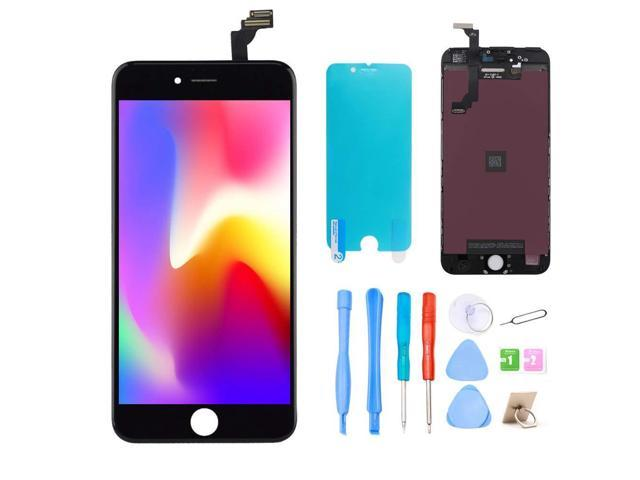newest ec934 cd0e0 Srinea Screen Replacement for iPhone 6 Plus 5.5'' Black, LCD Display Touch  Screen and Digitizer Frame Assembly with Full Repair Kit for iPhone 6 Plus  ...