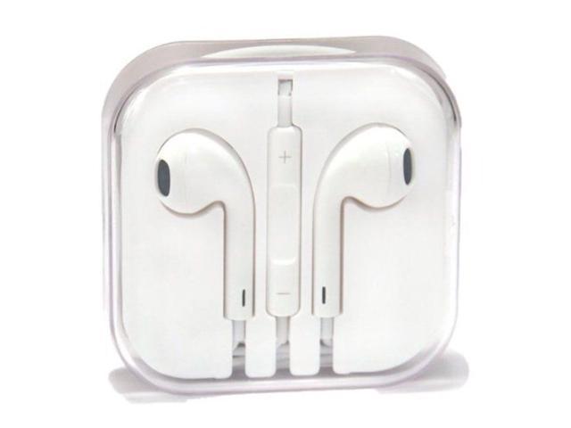 1699107c4d9 Auriculares originales del auriculares EarPods Apple con control remoto y  micrófono MD827LL/A - blanco - Newegg.com