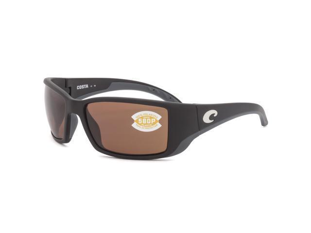 846b45adc3f Costa Del Mar Blackfin Sunglasses BL 11 OCP Black   Copper 580P Polarized  Lenses