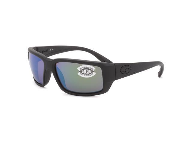 78ea690748 Costa Del Mar Fantail Sunglasses Blackout   Green Mirrored 580G Polarized  Lens