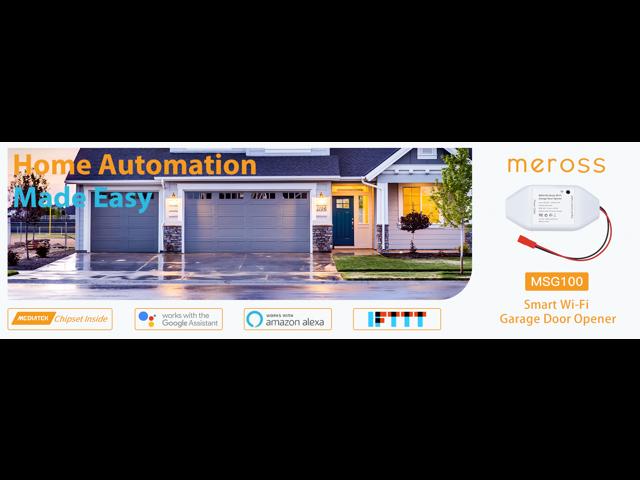 Meross Smart WiFi Garage Door Opener - Newegg ca