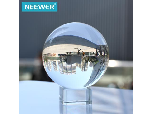 Neewer® 80mm/3inch Clear Crystal Ball Globe with Free Crystal Stand for  Feng Shui/Divination or Wedding/Home/Office Decoration - Newegg com