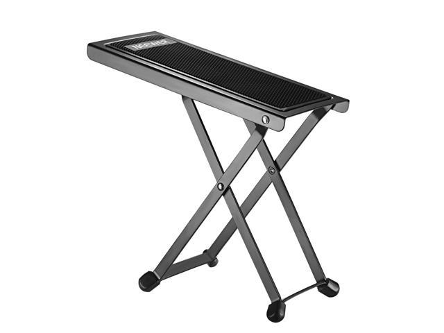 Cool Neewer Nw001 Adjustable Guitar Foot Stool Sturdy Solid Iron Pedal Rest With 4 Fixed Height Positions Non Slip Rubber End Caps And Pad For Classical Evergreenethics Interior Chair Design Evergreenethicsorg