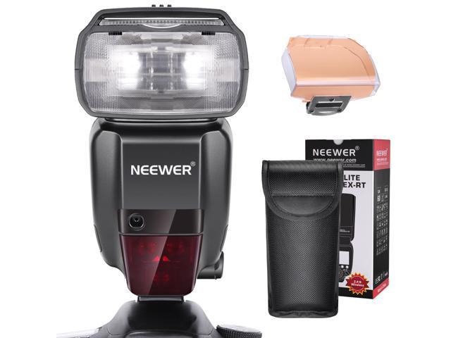 Neewer 2 4G HSS 1/8000s TTL GN60 Wireless Master Slave Flash Speedlite for  Canon 7D Mark II 5D Mark II III IV 1300D 1200D 750D 700D,600D,80D and Other