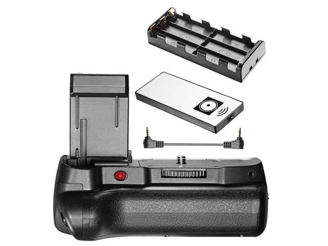 Neewer® Infrared Remote Control Vertical Battery Grip Work with LP-E10  Battery for Canon 1100D 1200D 1300D/ Rebel T3 T5 T6 SLR Digital Camera -