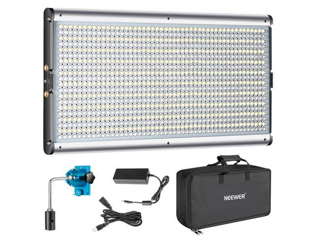 Neewer Dimmable Bi-Color LED Professional Video Light for Studio, YouTube  Outdoor Video Photography Lighting Kit, Durable Metal Frame, 960 LED Beads,